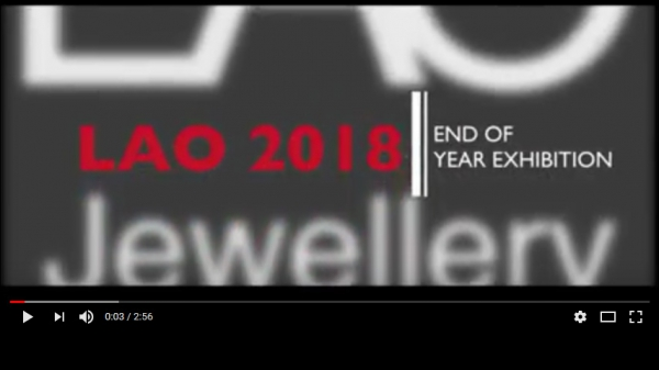 LAO - Le Arti Orafe Degree Show 2018