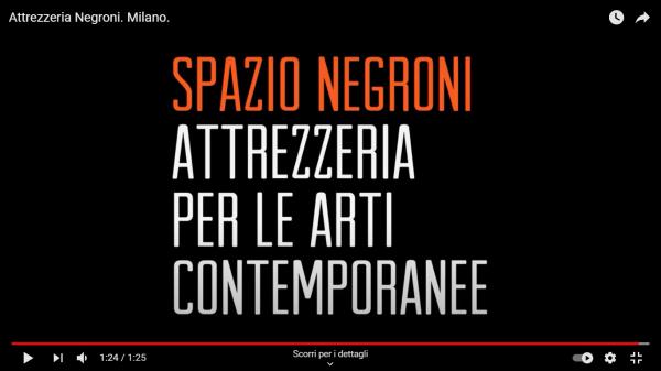 Attrezzeria Negroni. Milano.